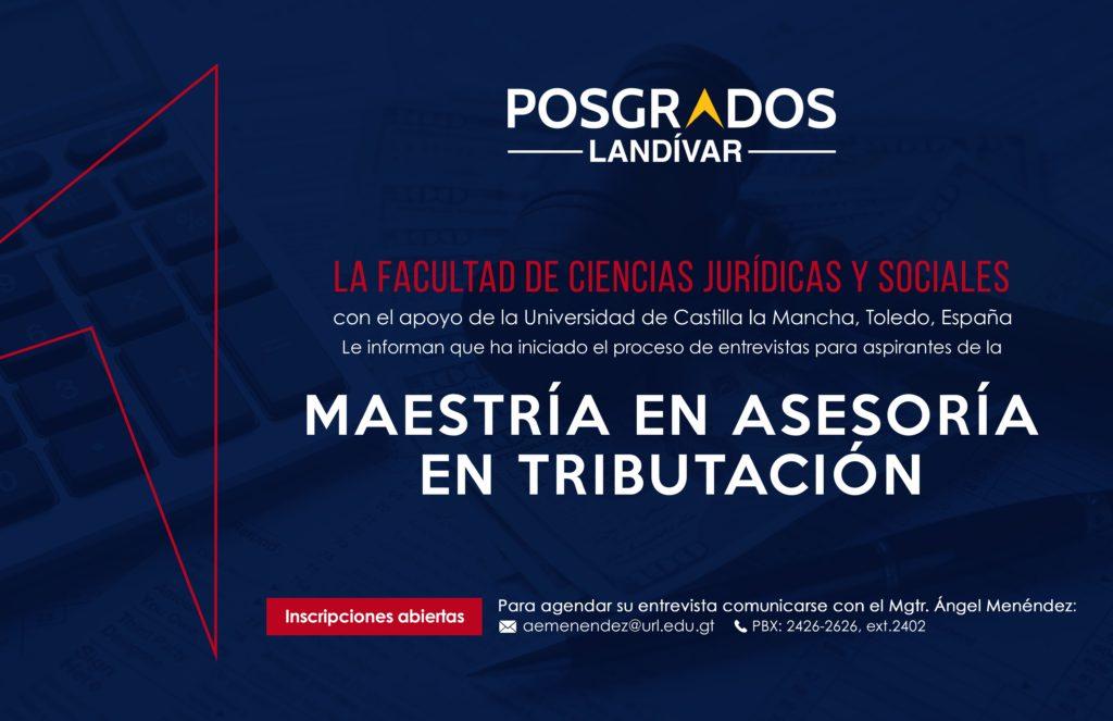 AFICHE ASESORÍA EN TRIBUTACIÓN