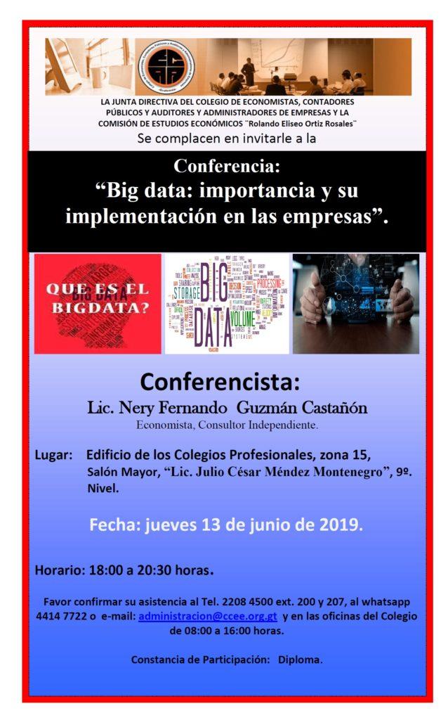 Conferencia 13 de Junio