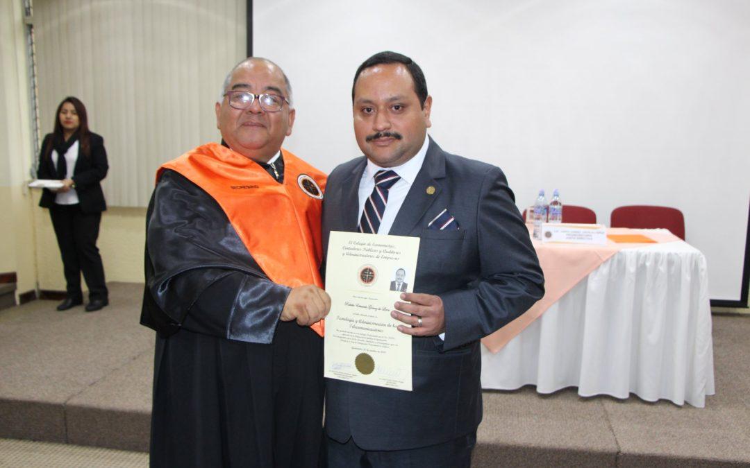 Acto de Juramentación de Nuevos Colegiados 16.11.2019.
